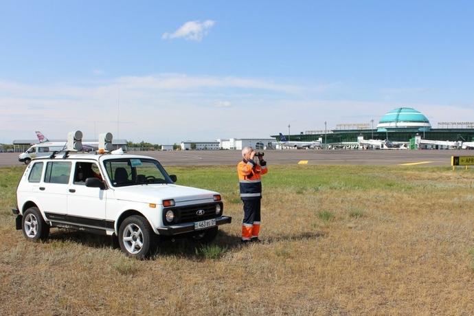 Как аэропорт Н.Назарбаев защищает самолеты от столкновений с птицами