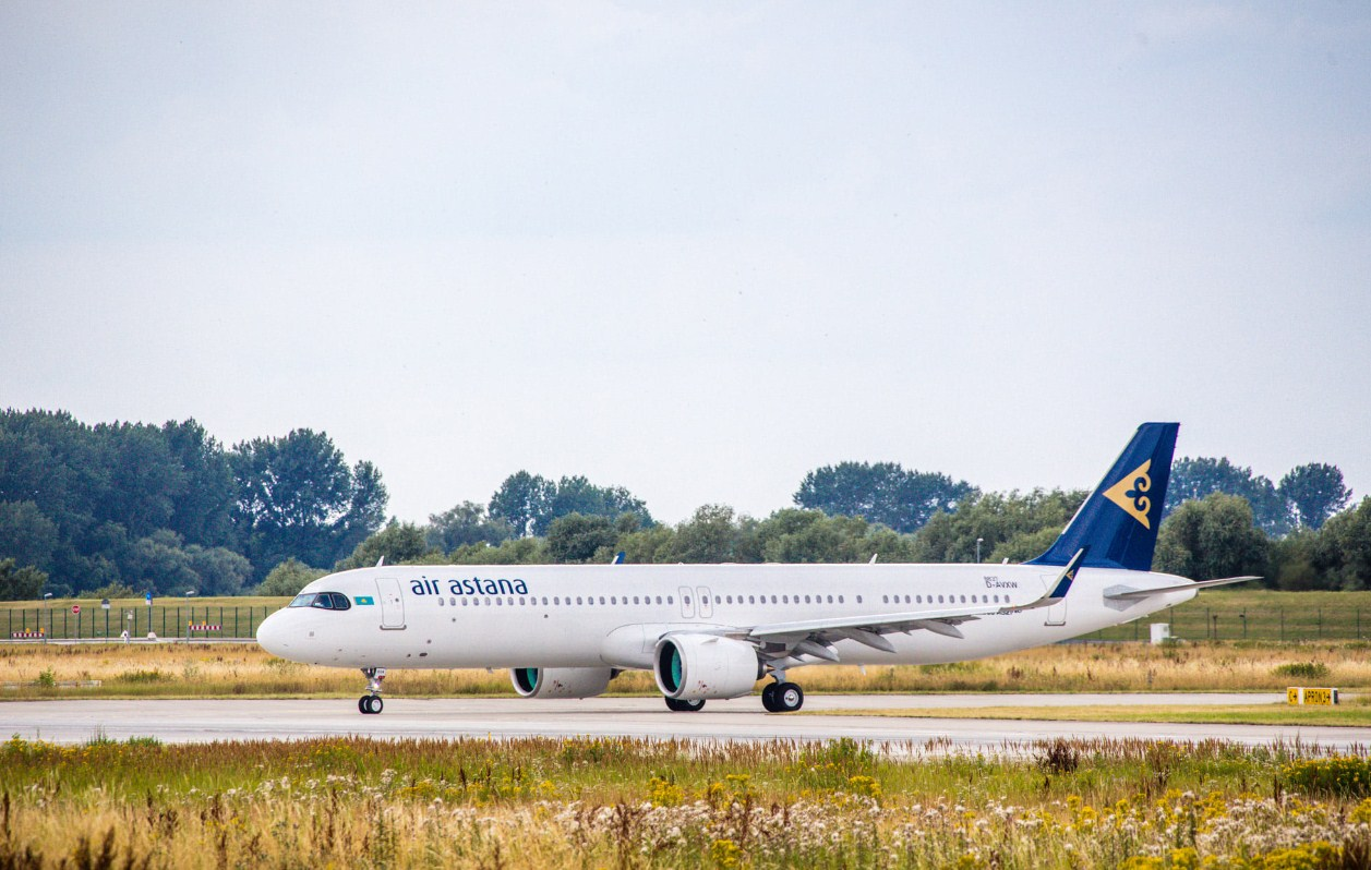 Air Astana получила Airbus A321LR