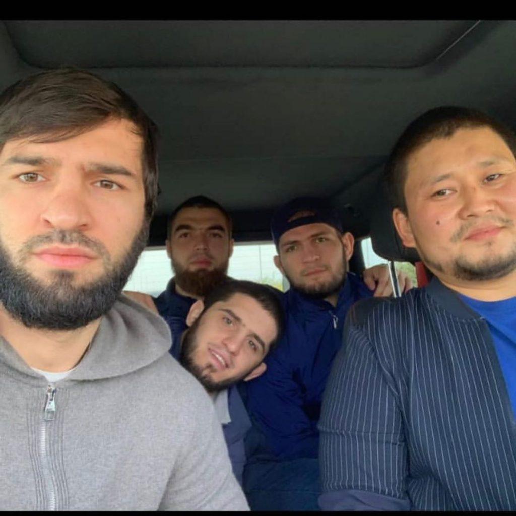 Хабиб Нурмагомедов в Казахстане