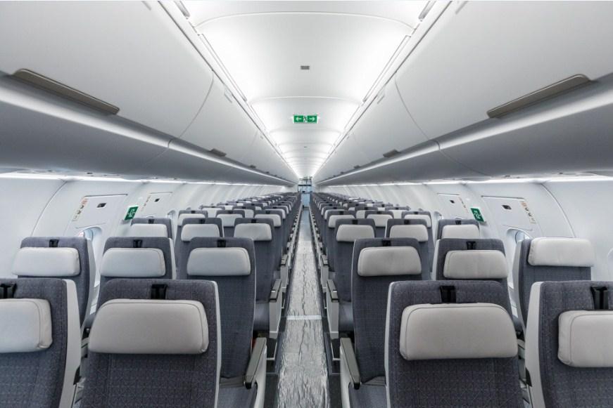 Салон Airbus A321LR