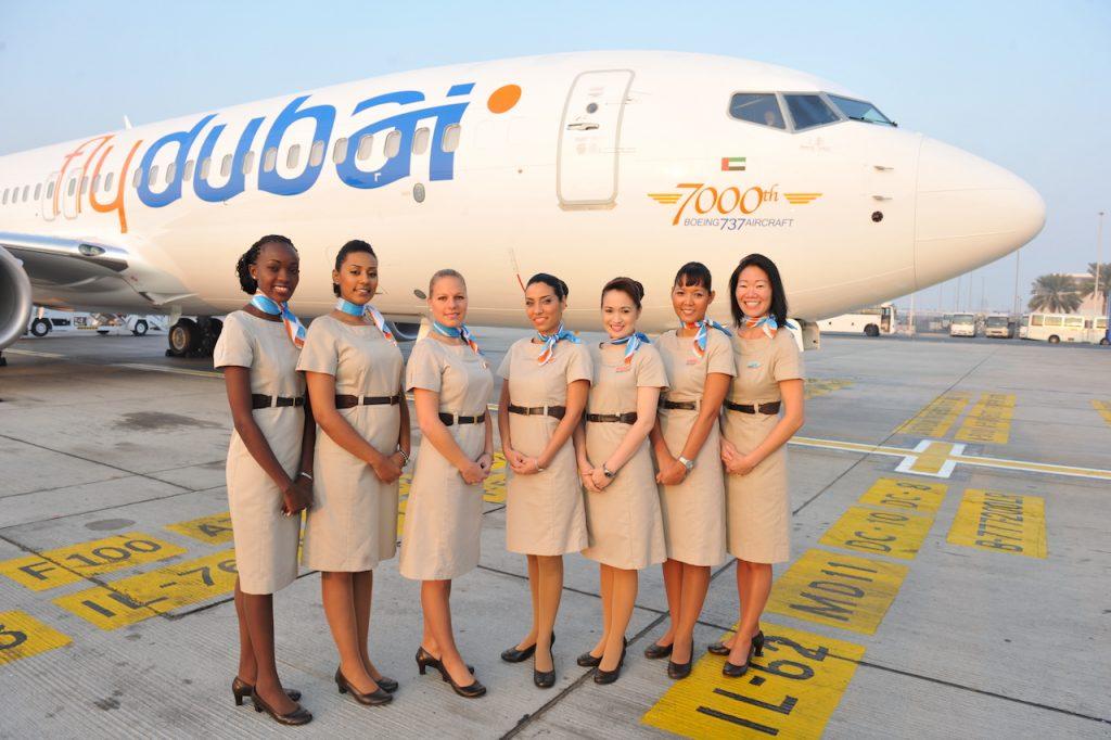 Стюардессы flydubai