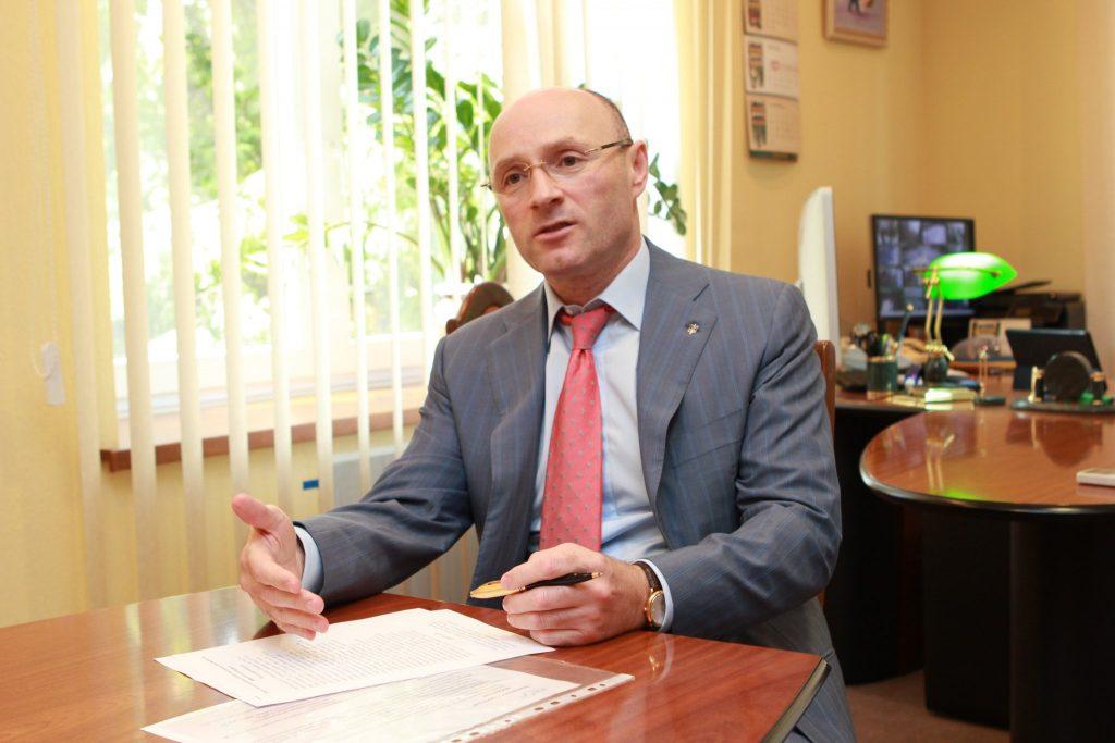 Президент МАУ Евгений Дыхне