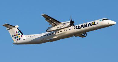 Qazaq Air возобновил рейсы из Нур-Султана в Костанай