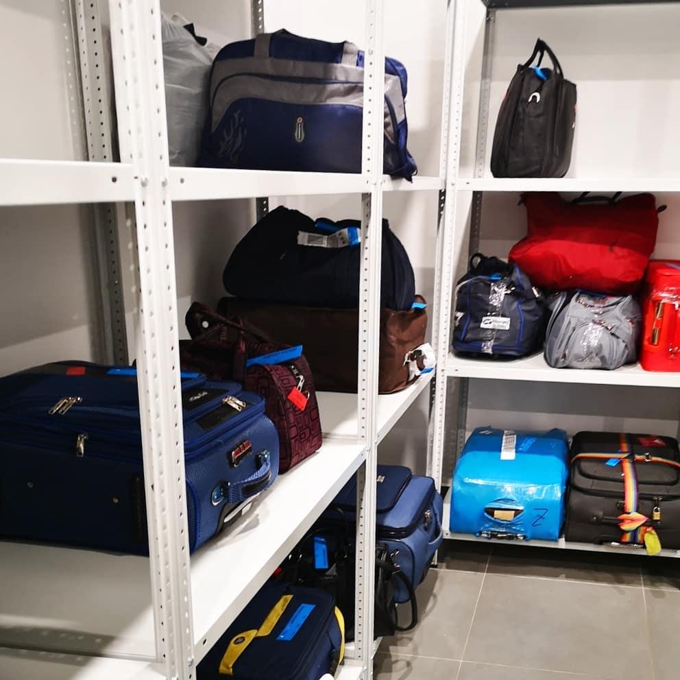 Камера хранения багажа в аэропорту Нур-Султана