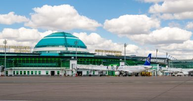 Международные аэропорты Казахстана