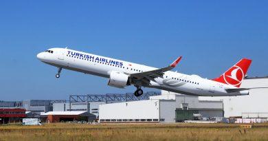 Turkish Airlines планирует открыть рейс Стамбул – Туркестан