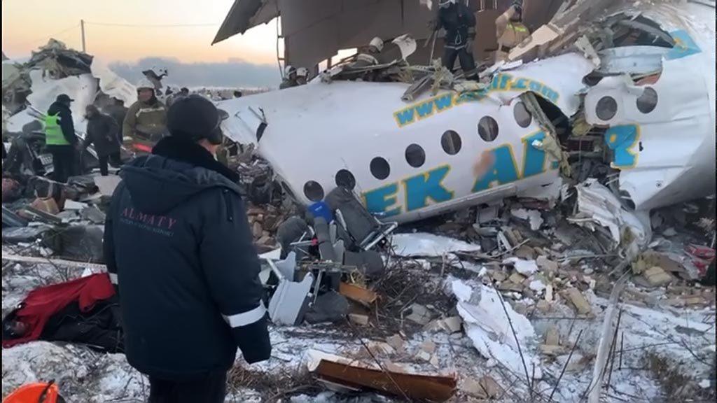 Разбился самолет Bek Air