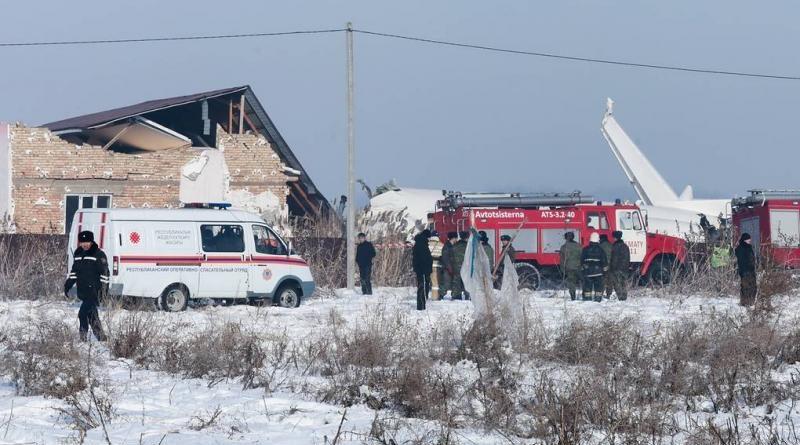 Списки погибших и пострадавших при крушении самолёта Bek Air