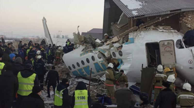 В Казахстане разбился пассажирский самолет Бек Эйр