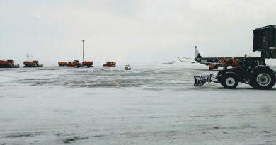 В аэропорту Нурсултан Назарбаев отменены все рейсы