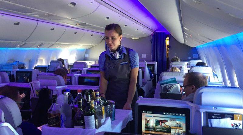 Полет в бизнес-классе Boeing 767