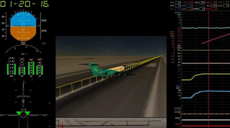Реконструкция катастрофы самолета Bek Air