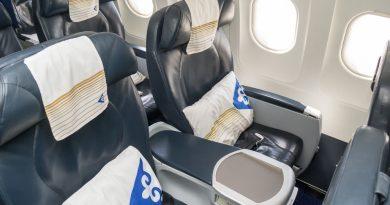 Как Air Astana проводит дезинфекцию пледов