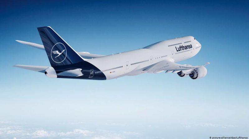 Lufthansa прекратила летать в Казахстан