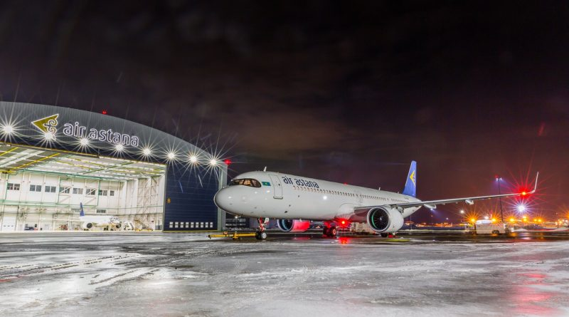 Новый самолет Эйр Астаны