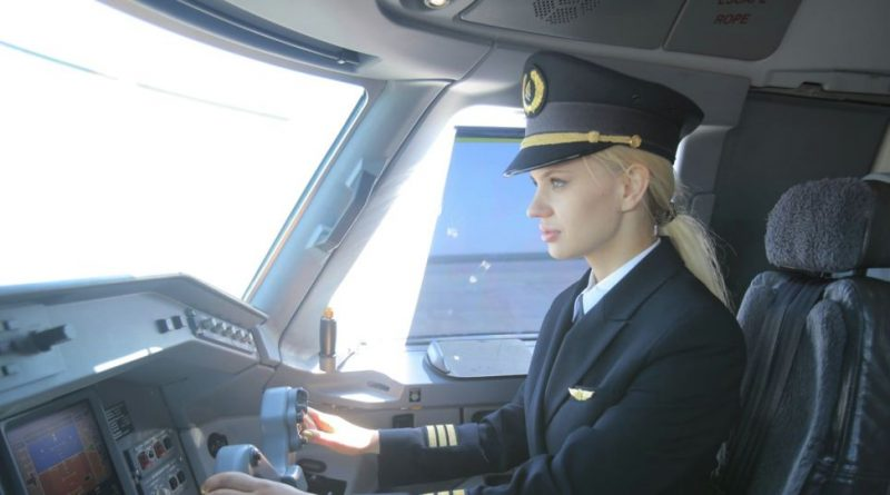 Женщины в авиации Air Astana