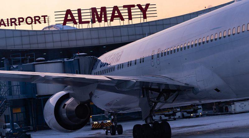 Аэропорты Казахстана перестали принимать пассажирские рейсы