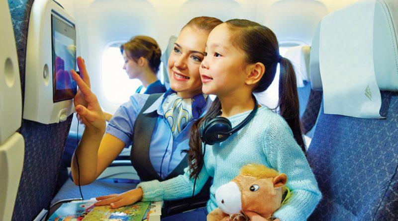 Детям до 14 лет разрешат летать бесплатно