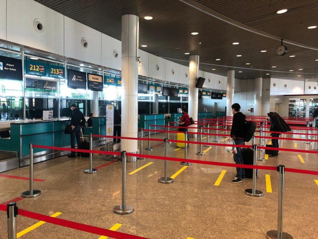 Первые рейсы после карантина