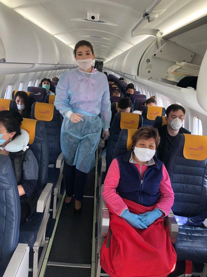 Первые рейсы в Казахстане после карантина