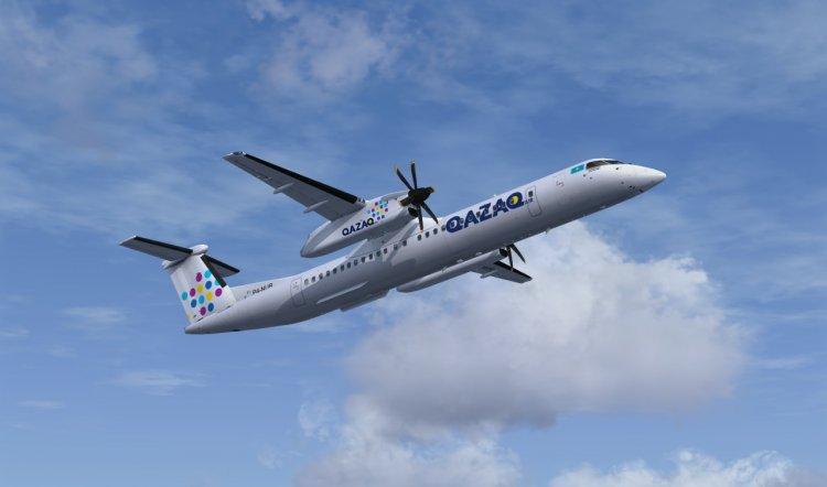 Qazaq Air начинает полеты в Костанай, Актобе, Талдыкорган и Павлодар