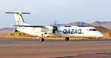 Авиакомпания Qazaq Air открывает новый рейс Нур-Султан – Тараз – Нур-Султан