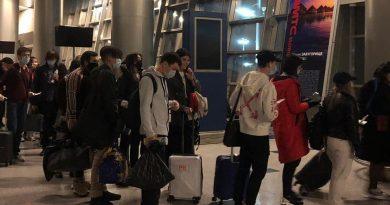 SCAT вернула домой студентов из России