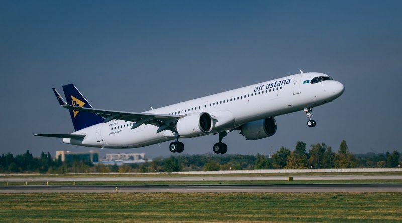 Air Astana Airbus A321LR обзор