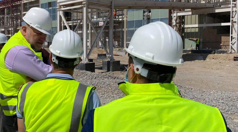 Строительство аэропорта в Туркестане идет по плану
