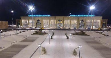 Туркестане начал работу международный аэропорт