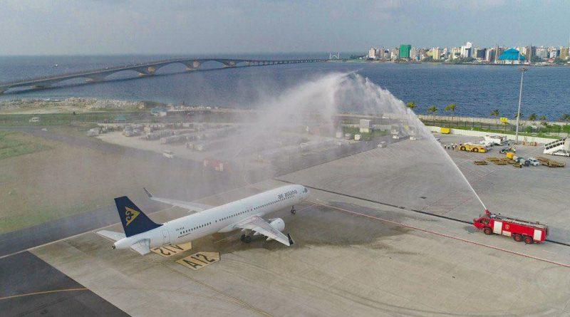 Air Astana выполнила первый рейс на Мальдивы