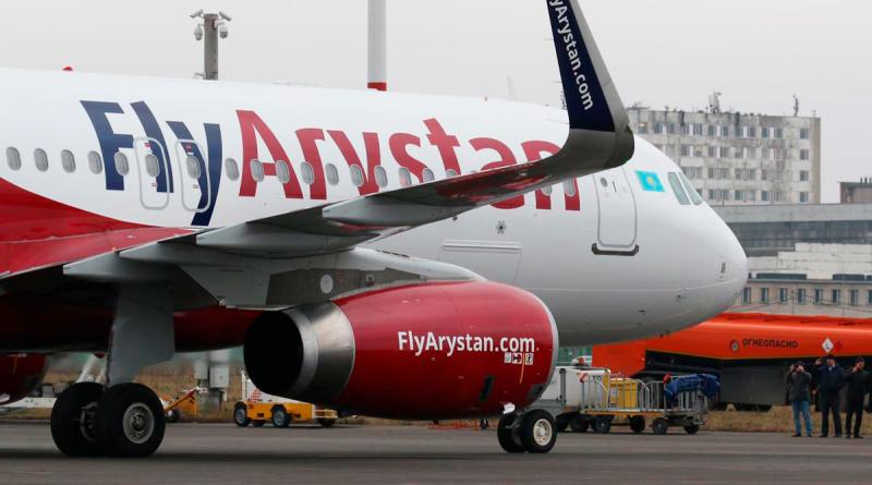 FlyArystan станет самостоятельной авиакомпанией