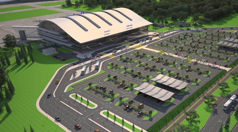 Новый терминал в Шымкенте достроят в 2021 году