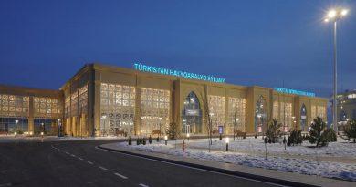Новый аэропорт в Туркестане