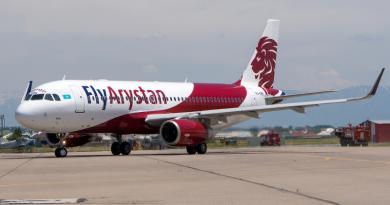 FlyArystan возобновил полеты из Уральска в Актау