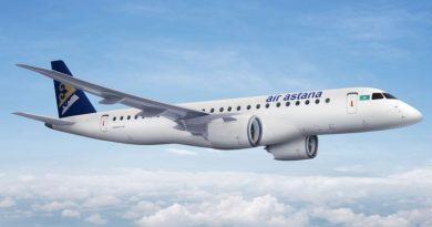 Air Astana рейсы Алматы - Душанбе