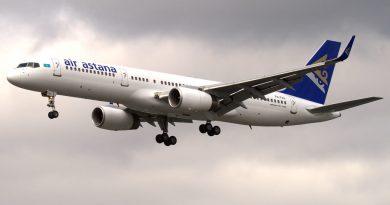 Air Astana увеличивает количество рейсов в Кыргызстан