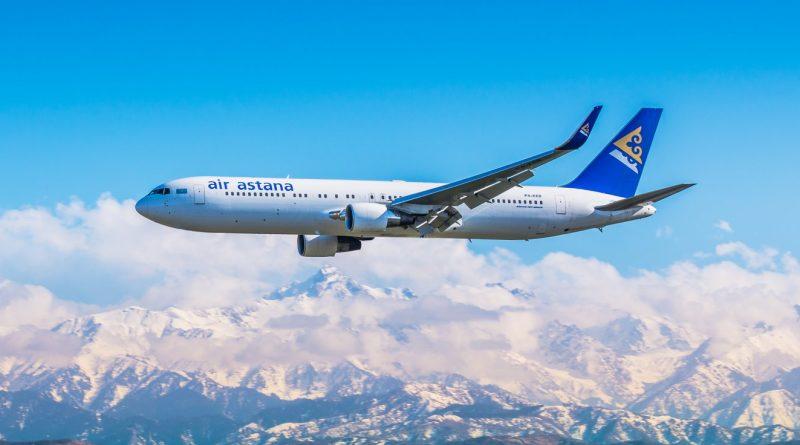 Air Astana запускает дополнительный рейс из Алматы в Киев