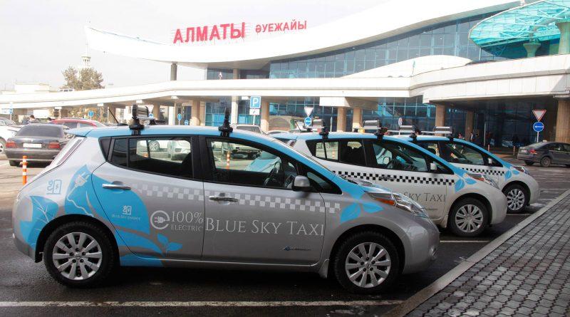 Элетротакси в аэропорту Алматы