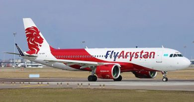 FlyArystan приобрел два Airbus A320