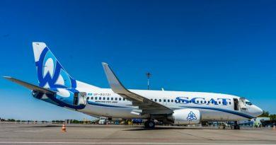 SCAT возобновляет рейсы из Шымкента в Стамбул