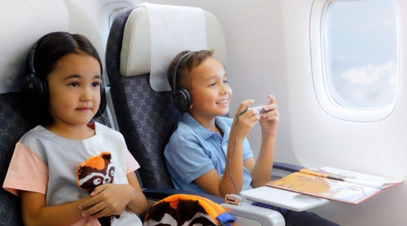 В Казахстане планируют бесплатные перелеты для детей