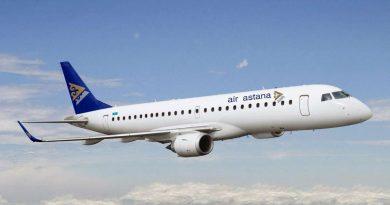 Air Astana распродает билеты из Алматы в Киев