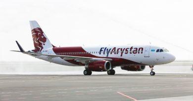 FlyArystan увеличивает количество рейсов Туркестан – Стамбул