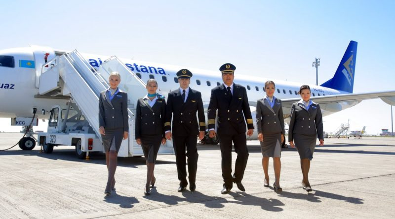 Air Astana отметила 19-летие
