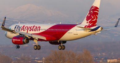 FlyArystan открыла авиарейсы Туркестан – Бишкек
