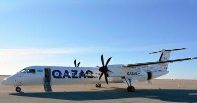 Qazaq Air запускает регулярные авиарейсы Нур-Султан – Ушарал