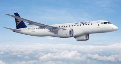 Air Astana увеличивает количество полетов в Киев