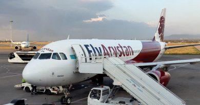 Пассажир устроил скандал в самолете FlyArystan