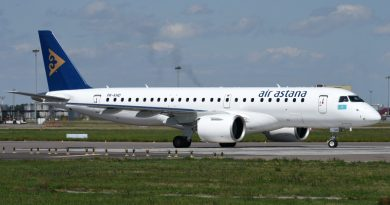 Air Astana судится с Embraer